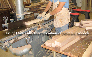 Use of Dust Collectors Operation of Different Models