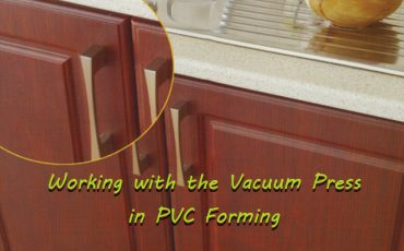 Working with the Vacuum Press in PVC Forming
