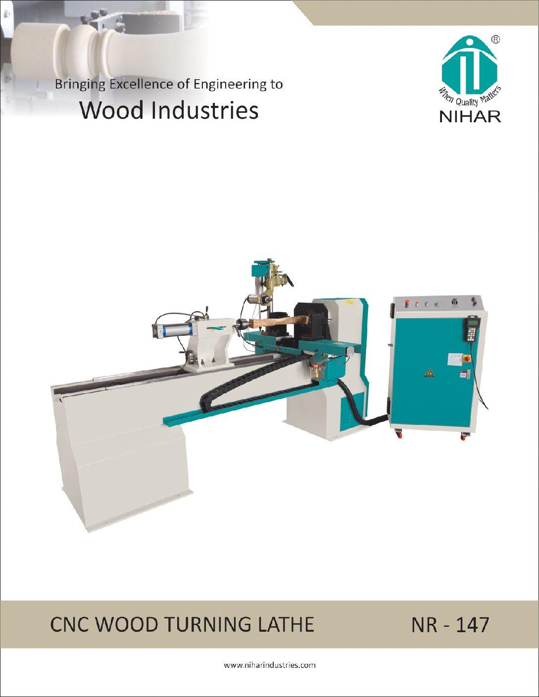 Cnc Wood Turning Lathe Machines Manufacturer Wood Turning Milling