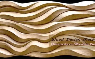 Wood Design Machine: Creativity on Wooden Pieces