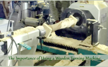 The Importance of Using a Wooden Turning Machine